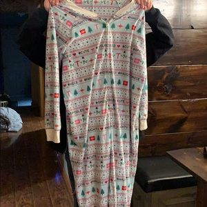 Super soft, never worn fleece Christmas pajamas